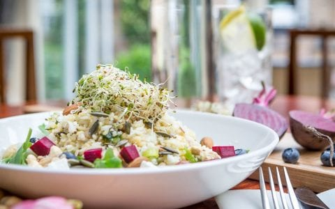 Super food salad